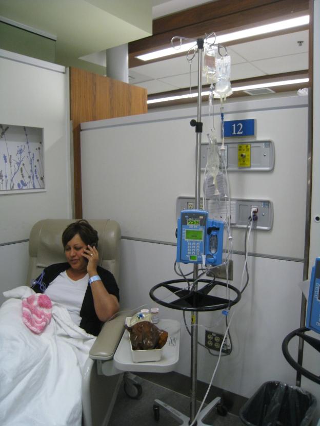 Munira Premji_Chemo Day 1