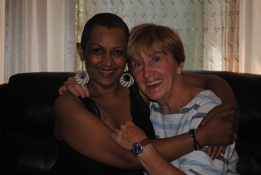 Munira and Lynda - July 2013