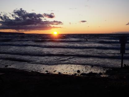 Sunset on Wasaga Beach
